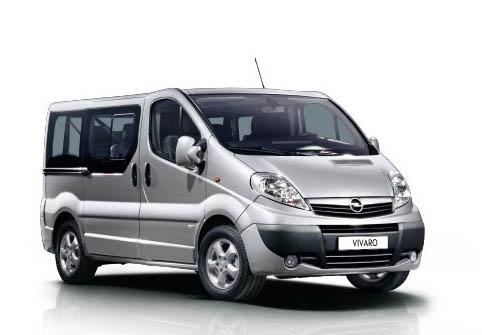 Opel Vivaro Automatic 9 Seater ή παρόμοιο